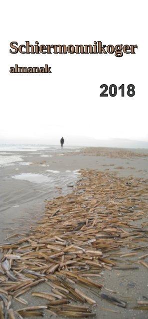 voorpagina Schiermonnikoger Almanak 2018