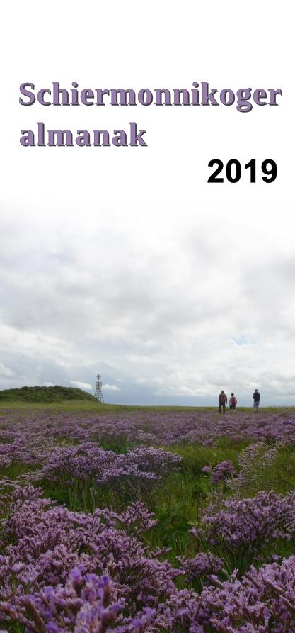 voorpagina Schiermonnikoger Almanak 2019